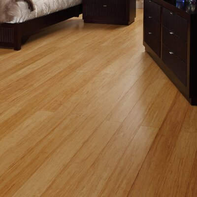 5 Engineered Strand Woven Bamboo  Flooring in Natural