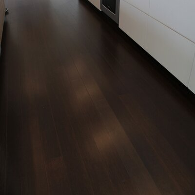 4-3/4 Solid Strand Woven Bamboo  Flooring in Autumn Harvest