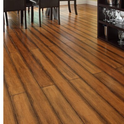 5 Engineered Strand Woven Bamboo  Flooring in Antique Toffee