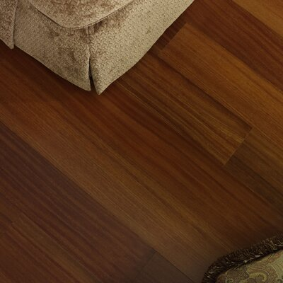 3-1/4 Solid Brazilian Teak Hardwood Flooring in Natural