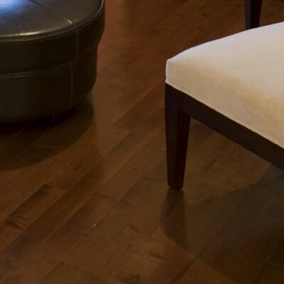 3-1/2 Engineered African Magnolia Hardwood Flooring in Latte
