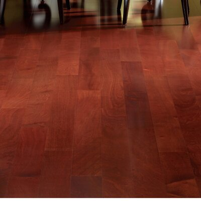 5 Engineered African Mahogany Hardwood Flooring in Natural
