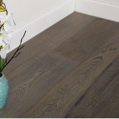 7-1/2 Engineered White Oak Hardwood Flooring in Gettysburg Grey