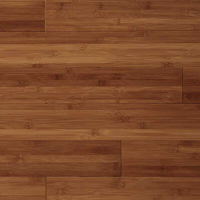 3-3/4 Solid Bamboo  Flooring in Caramel