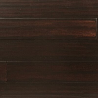 5 Engineered Strand Woven Bamboo  Flooring in Roasted Chestnut