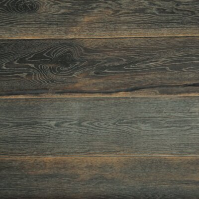 7-1/2 Engineered White Oak Hardwood Flooring in Gray Stable