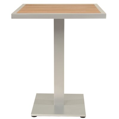 Bar Table Table Size: 24 L x 24 W