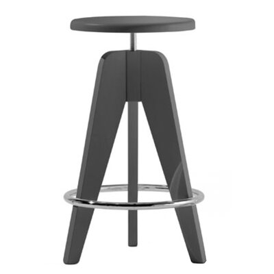 Tomy Adjustable Height Bar Stool Finish: Walnut