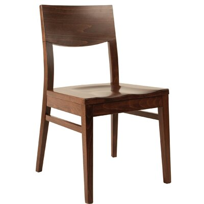 Side Chair Finish: Dark Walnut