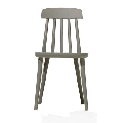 Cut Side Chair Finish: Gray