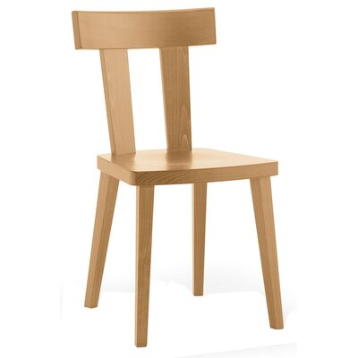 Kyoto Solid Wood Dining Chair Finish: Walnut