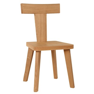 Kyoto Solid Wood Dining Chair Finish: Natural