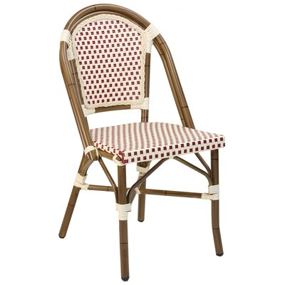 Paris Side Chair Upholstery: Red