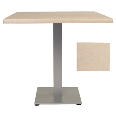 Sm France Dining Table Table Size: 32 L x 32 W, Finish: Silk