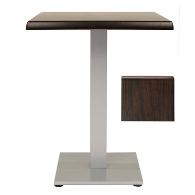 Sm France Dining Table Table Size: 24 L x 24 W, Finish: Wenge