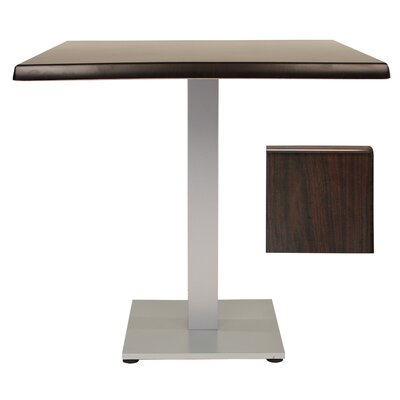 Sm France Dining Table Table Size: 32 L x 32 W, Finish: Wenge