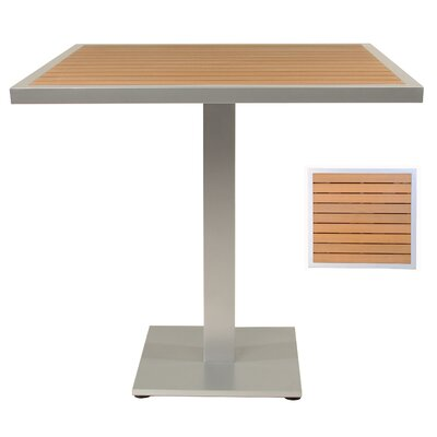 Bar Table Table Size: 32 L x 32 W