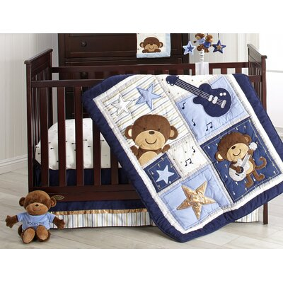 Carter's Monkey Crib Bedding Set