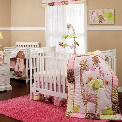 Carter's Jungle 4 Piece Crib Bedding Set