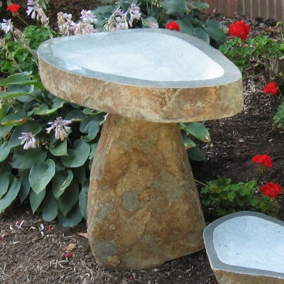 Large Granite Boulder Birdbath BB-BO-1