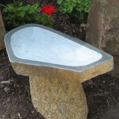 Large Granite Boulder Birdbath BB-BO-4
