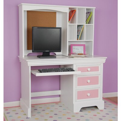 "Comfort Decor Color Box Computer 29"" H x 44.25"" Desk Hutch at Sears.com"