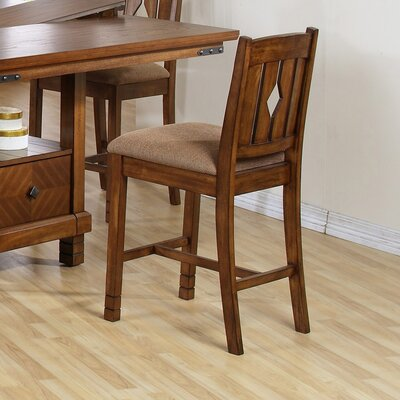 Bad credit financing Urban Rustic Counter Height Chair (...