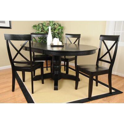 Comfort Decor Country Classics  Dining Table - Finish: Black at Sears.com