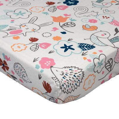 baby gifts store - Lolli Living Stella Fitted Crib Sheet - Cot Sheets Baby Bedding