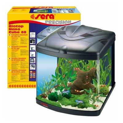 buy low price sera biotop nano cube aquarium 60l fish aquarium mart