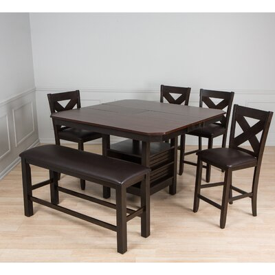 6 Piece Pub Table Set