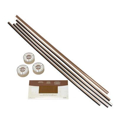 Backsplash Accessory Specialty Piece Tile Trim Color: Polished Copper