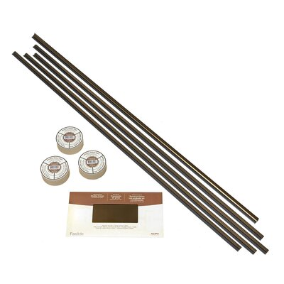 Backsplash Accessory Specialty Piece Tile Trim Color: Oil-Rubbed Bronze