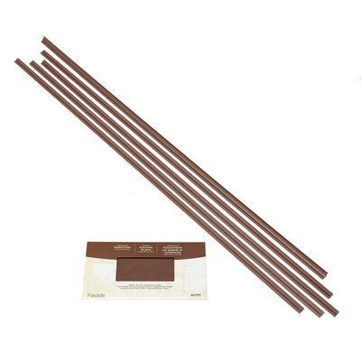 Fasade Backsplash Accessory Kit Color: Argent Copper