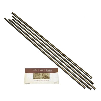 Fasade Backsplash Accessory Kit Color: Bermuda Bronze