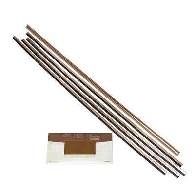 Fasade Backsplash Accessory Kit Color: Polished Copper