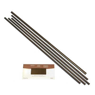 Backsplash Large Profile Accessory Specialty Piece Tile Trim Color: Oil-Rubbed Bronze