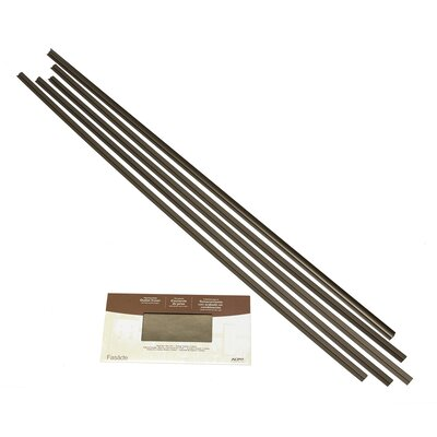 Fasade Backsplash Accessory Kit Color: Argent Bronze