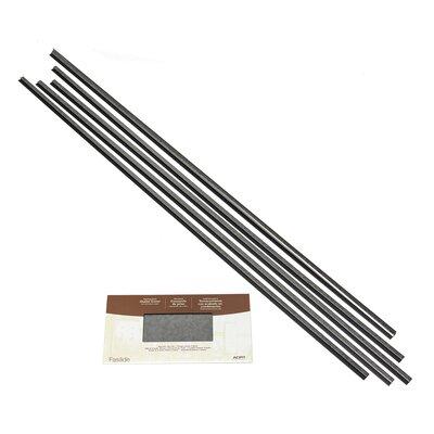 Fasade Backsplash Accessory Kit Color: Galvanized Steel
