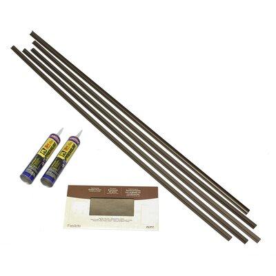 Backsplash Accessory Specialty Piece Tile Trim Color: Argent Bronze