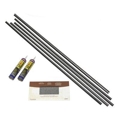 Backsplash Accessory Specialty Piece Tile Trim Color: Galvanized Steel