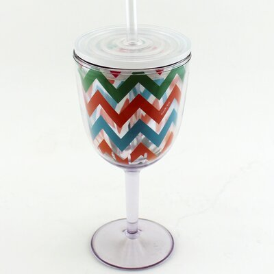 Acrylic Wine Glass 2211612