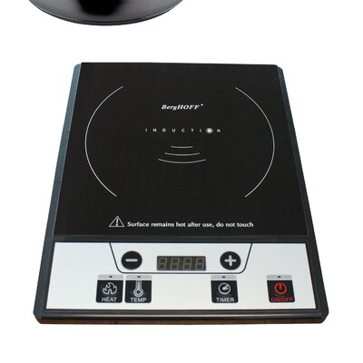 "BergHOFF Tronic 14"" Induction Cooktop with 1 Burner"