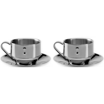 BergHOFF Straight 3 oz. Cappuccino cup & Saucer 2211718