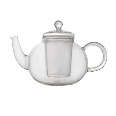 BergHOFF Glass Infuser Teapot - Size: 0.7 qt.