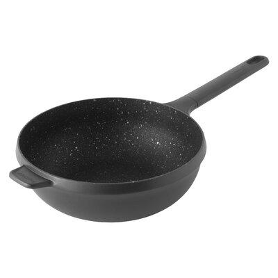 "Gem 10"" Non-Stick Aluminum Stir Fry Wok Size: 4"" H x 10"" W x 19"" D 2307313"