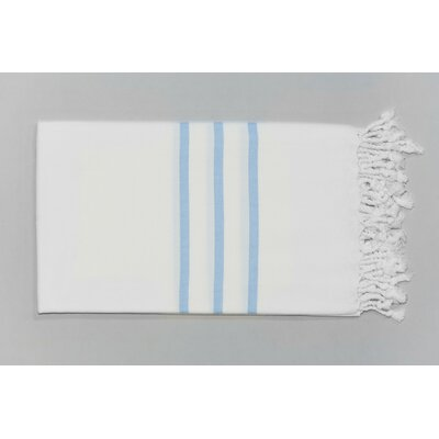 Burns Classic Bath Towel Color: Baby Blue