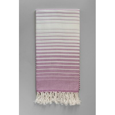 Illusion Bath Towel Color: Purple