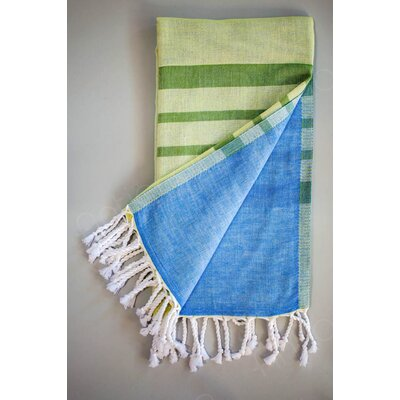 Alya Bath Towel Color: Lime Green