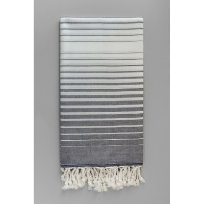 Illusion Bath Towel Color: Navy